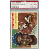 1956 Topps Baseball #101 Roy Campanella PSA 6 (EX-MT) *9381