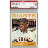 1964 Topps Baseball #150 Willie Mays PSA 5 (EX) *0111