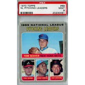 1970 Topps Baseball #69 NL Pitching Leaders PSA 9 (Mint) *0051