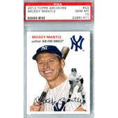 2012 Topps Archives Baseball #22 Mickey Mantle PSA 10 (Gem Mint) *1311
