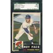 1953 Topps Baseball #246 Roy Face SGC 80 (EX/NM) *8005