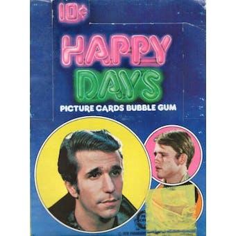 Happy Days New Series Wax Box (1976 O-Pee-Chee)