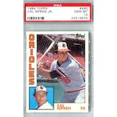 1984 Topps Baseball #490 Cal Ripken Jr. PSA 10 (GM-MT) *9675