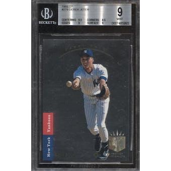 1993 SP Derek Jeter Rookie Card #279 BGS 9.0 (9.5,9,8.5,9)