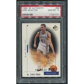 1998/99 SP Authentic #99 Dirk Nowitzki Rookie #1343/3500 PSA 10 (GEM MT)