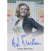 Archives Box 007 Goldfinger Honor Blackman Pussy Galore Autographed Card (Rittenhouse 2016) (Reed Buy)