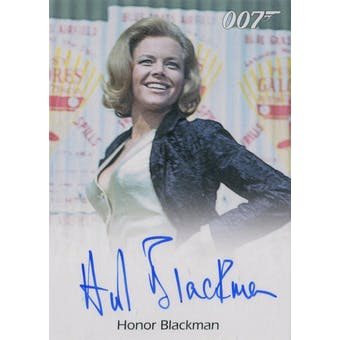 Archives Box 007 Goldfinger Honor Blackman Pussy Galore Autograph (Rittenhouse 2016) (Reed Buy)
