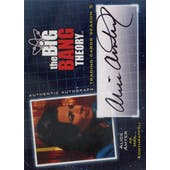 The Big Bang Theory Season 5 Alice Amter Mrs. Koothrappali Autographed Card (Cryptozoic 2013) (Reed Buy)