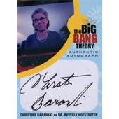 The Big Bang Theory Seasons 6 & 7 CB1 Christine Baranski Autographed Card (Cryptozoic) (Reed Buy)