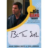 The Big Bang Theory Seasons 6 & 7 Brian Thomas Smith Zack Johnson Autographed Card (Cryptozoic) (Reed Buy)