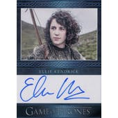 Game of Thrones Sesaon 3 Ellie Kendrick Meera Reed Autographed Card (2014 Rittenhouse) (Reed Buy)
