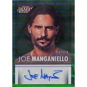 Panini Americana Joe Manganiello Autographed Card #/25 (2015) (Reed Buy)