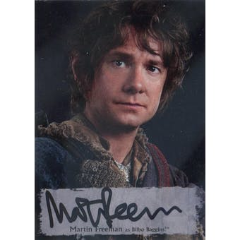 The Hobbit Battle Five Armies Martin Freeman Autograph Card (2016 Cryptozoic) (Reed Buy)