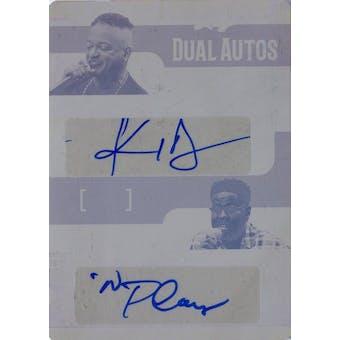 Pop Century Kid 'n Play Dual Signed Autographed Printing Plate 1/1 (2017 Leaf) (Reed Buy)