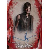 AMC The Walking Dead Survival Norman Reedus Autographed Card (2016 Topps) (Reed Buy)
