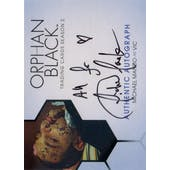 Orphan Black Michael Mando Vic Autographed Card (2017 Cryptozoic) (Reed Buy)