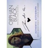 Orphan Black Zoe de Grand Maison Gracie Johanssen Autographed Card (2017 Cryptozoic) (Reed Buy)