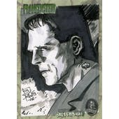 Frankenstein 2006 Artbox Hand Drawn Sketch Card 1/1 (Reed Buy)
