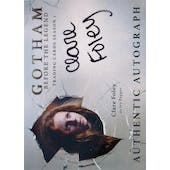 Gotham Season 1 Clare Foley Ivy Pepper Autographed Card (Cryptozoic) (Reed Buy)