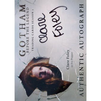 Gotham Season 1 Clare Foley Ivy Pepper Autograph (Cryptozoic) (Reed Buy)