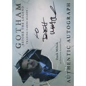 Gotham Season 1 Dash Mihok Detective Arnold Flass Autographed Card (Cryptozoic) (Reed Buy)