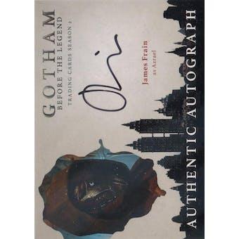 Gotham Season 2 James Frain Azrael Autographed Card (Cryptozoic) (Reed Buy)