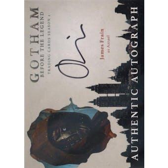 Gotham Season 2 James Frain Azrael Autograph (Cryptozoic) (Reed Buy)