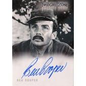 Twilight Zone Ben Cooper Dauger Autographed Card (2004 Rittenhouse) (Reed Buy)