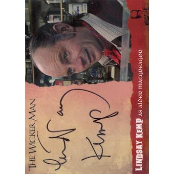 The Wicker Man Lindsay Kemp Alder Macgregor Autographed Card (Unstoppable Cards) (Reed Buy)