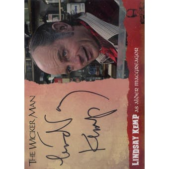 The Wicker Man Lindsay Kemp Alder Macgregor Autograph (Unstoppable Cards) (Reed Buy)