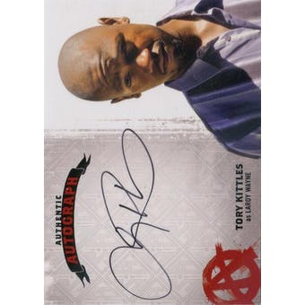 Sons of Anarchy Seasons 4 & 5 Tory Kittles Laroy Wayne Autograph (2015 Cryptozoic) (Reed Buy)
