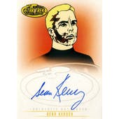 Star Trek Complete Animated Adventures Sean Kenney Captain Pike Autographed Card (2010 Rittenhouse) (Reed Buy)