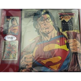 Return of Superman Factory Set (1993 Skybox) (Reed Buy)