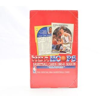 1990/91 Hoops Series 2 Basketball Wax Box (Reed Buy)