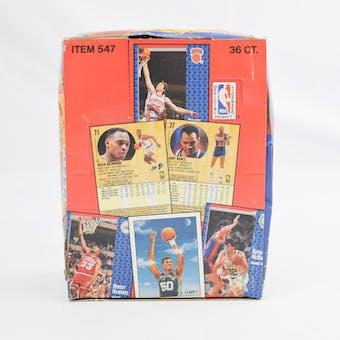 1991/92 Fleer Series 1 Basketball Wax Box (Reed Buy)