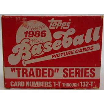 1986 Topps Traded & Rookies Baseball Factory Set (Reed Buy)