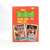 1990 Topps Football Wax Box (Reed Buy)