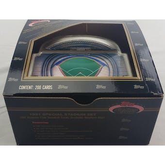 1991 Topps Stadium Club Dome Baseball Factory Set (Reed Buy)