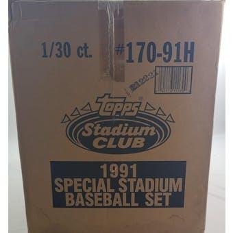 1991 Topps Stadium Club Dome Baseball Factory Set Case (Reed Buy)