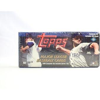1999 Topps Baseball Hobby Factory Set (Dark Blue) (Reed Buy)