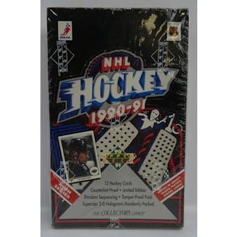 1990/91 Upper Deck English High # Hockey Hobby Box (Reed Buy)