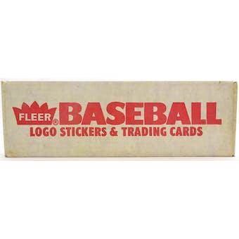 1989 Fleer Baseball Factory Set (Reed Buy)