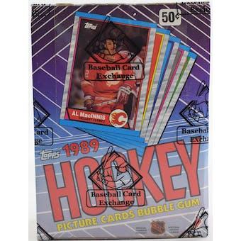 1989/90 Topps Hockey Wax Box BBCE FASC (Reed Buy)