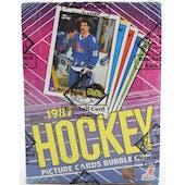 1987/88 Topps Hockey Wax Box BBCE (Reed Buy)