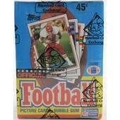 1989 Topps Football Wax Box BBCE FASC (Reed Buy)