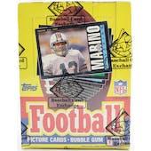 1985 Topps Football Wax Box BBCE (Reed Buy)