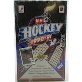 1990/91 Upper Deck English Low # Hockey Wax Box (Reed Buy)