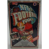 1991 Upper Deck Low # Football Wax Box (Reed Buy)