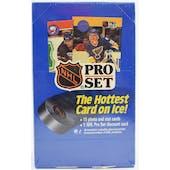 1990/91 Pro Set Series 1 French Hockey Wax Box (Reed Buy)