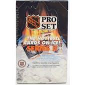 1990/91 Pro Set Series 2 French Hockey Wax Box (Reed Buy)